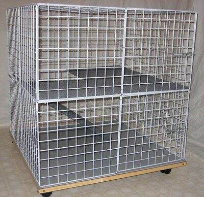 Pet Bunny Rabbit Condo cage - Indoor MINI-CONDO NEW house home hutch - Mini Bunny House