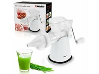 Brand New Müeller Elite Masticating Slow Fruit/Vegetable Juicer