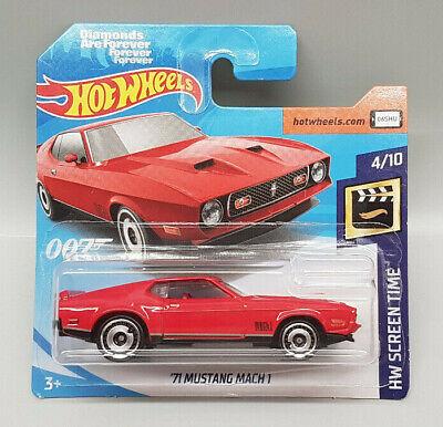 Hot Wheels - ´71 Ford Mustang Mach 1 - HW Screen Time - FYC92 - Bond - NEU 2019