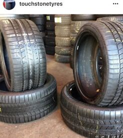 Used Tyres . FITTED . singles Pairs & Sets . Summer & Winter tyres 4 all cars . Specialist Tire Shop