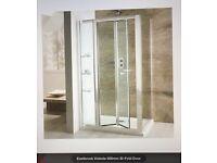 Eastbrook Volente 800mm bi-fold shower door