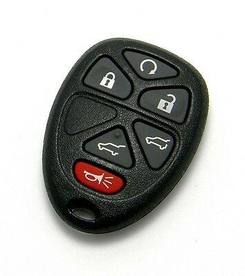 NEW REPLACEMENT KEYLESS ENTRY REMOTE FOB FOR 6 BUTTON 15913427