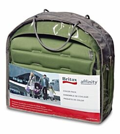 Britax Affinity colour pack in cactus green. Brand new.