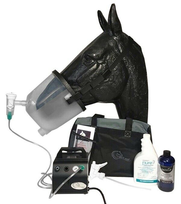 Equi-Resp Contender Nebulizer Unit Complete-Horses Breath Easy Perform Better!!