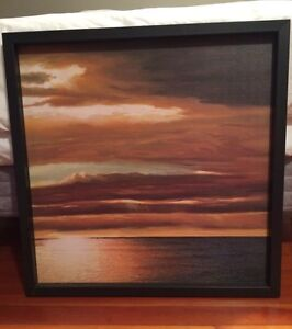 Sunset Canvas Painting for Sale!