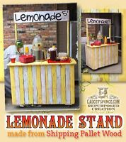 Looking for free lumber for lemonade stand