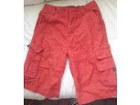 Next boys combat shorts in very good condition Age 12