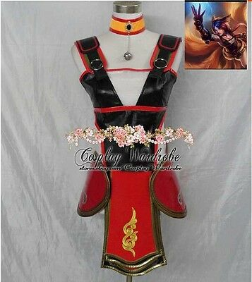 League of Legends Ahri Cosplay LOL Ahri Foxfire Costume Custom made