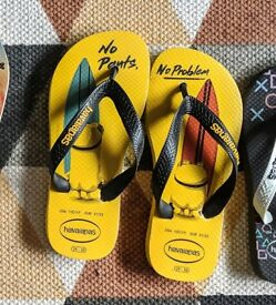 Official Minions Havaianas for kids brand new!