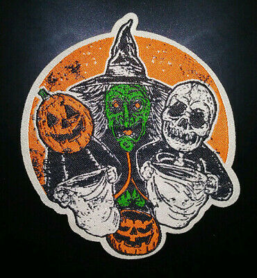 Three Witches Halloween Movie (PATCH - 3 Halloween Trick or Treaters HORROR movie III witch masks)