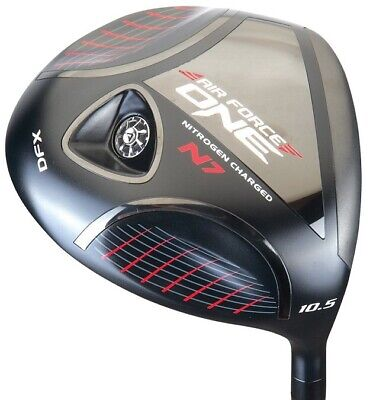 BRAND NEW Air Force One DFX MOI Black Driver with Fujikura Speed Rated Shaft Air Force One Driver