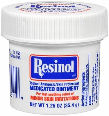Resinol Medicated Ointment 1.25 oz