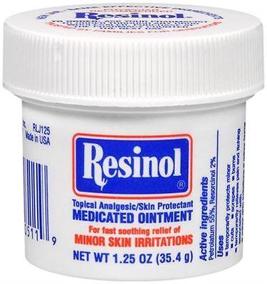 Resinol Medicated Ointment 1.25 oz