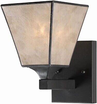 Kenroy Home 93631BRZ Capell 1 Light Sconce Bronze finish   NEW IN BOX