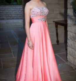 SIZE 6 CORAL PROM DRESS
