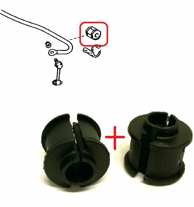 REAR ANTI ROLL BAR STABILIZER BUSH KIT FOR LEXUS IS220D IS250 IS350 2005-12