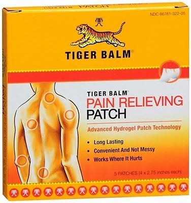 Tiger Balm Patches 5 Each (pack Of 5)