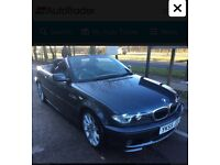 Bmw 320ci convertible low miles