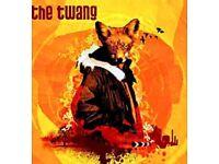 The Twang tickets x4 23-12-17 o2 academy