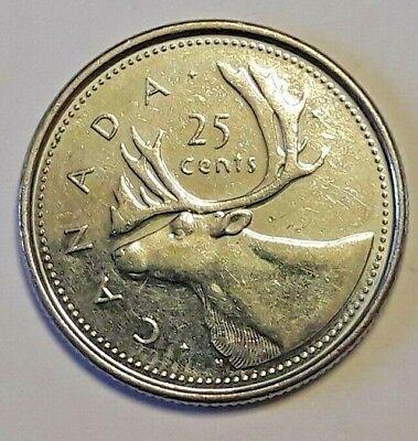 25 cents canada 1/4 dollar 1952 2002 50 years anniversairy
