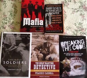 True books $5, 4/$15:UNLIKELY SOLDIERS, BREAKING THE CODE
