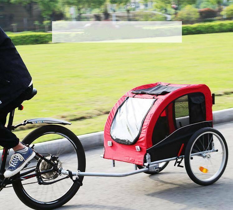 Hundeanhänger Anhänger Jogger Hundetransporter Fahrradanhänger 2 Größe DE