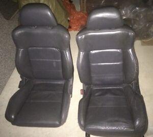 Eclipse/Talon 95-99 Front grey leather seats