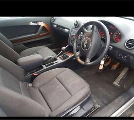 53' Audi A3 2.0tdi se 140 6 spd manual