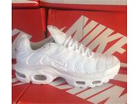 Nike Tn all white new in box