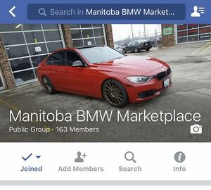 Manitoba BMW Marketplace Facebook Group