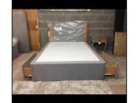 💛💛GUARANTEE PRICE💛💛NEW DOUBLE DIVAN BED BASE INCLUDING MATTRESS (Headboard Optional)