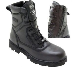 BRAND NEW Royer Side Zip Safety Boot