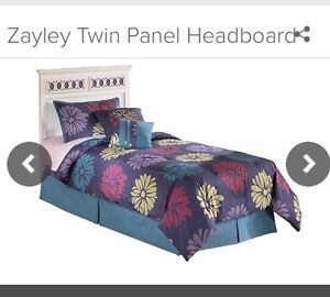 Twin Bed & Low Profile Box Spring Edmonton Edmonton Area image 1