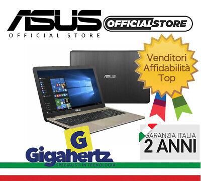ASUS NOTEBOOK X540NA-GQ017 INTEL N3350 4GB 500GB NUOVO ITALIA GARANZIA 24M