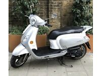 Sym fiddle 3 125cc 2015 moped scooter motorcycle for sale not Honda Vespa gilera piaggio lexmoto