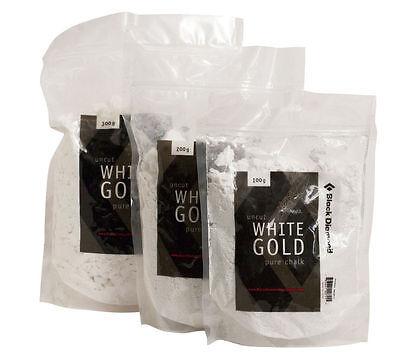 Black Diamond Chalk 300 g Loose Chalk White Gold Klettern Bergsport