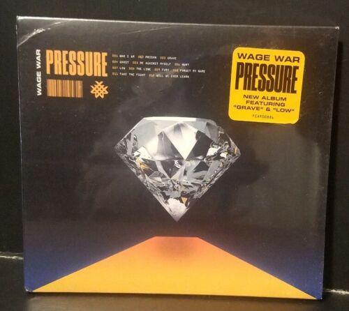 как выглядит WAGE WAR Pressure NEW SEALED CD Fearless 2019 metalcore фото