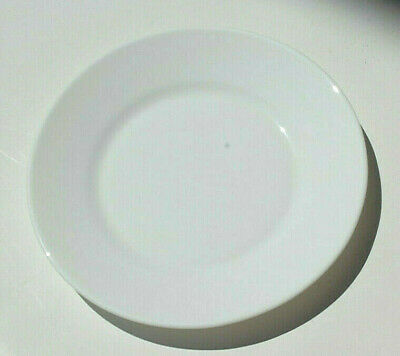 Arcoroc Restaurant 22530 White Round 7 12 Side Plates Wide Rim New C1063