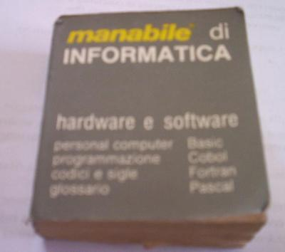 MINI MODE D'EMPLOI INFORMATIQUE 1984 Matériel Manobook logiciel