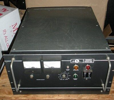 Raytheon Sorensen Nobatron Dcr20-125a Power Supply 125 Amp Three-phase