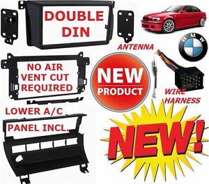 bmw double din kit ebay Wiring Harness Kit for Z32 Universal Wiring Harness Kit