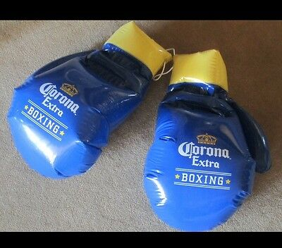 Blow Up Boxing Gloves (Corona Extra Beer Boxing Gloves Inflatable Blow Up Sign)
