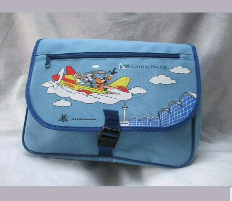 Cathay Pacific Airline Looney Tune Children Activity Kit Backpack Coloring Book