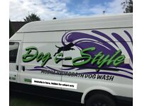 Mobile Hydrobath Dog wash/ grooming van - new fit out - be your own boss