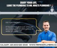 Affordable Courteous Calgary Plumbers.