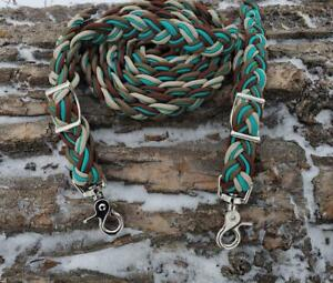 Handmade Paracord Horse Reins and Neck Ropes