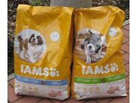 Large breed puppy food.Iams 12kg bag