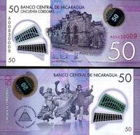 Nicaragua - 50 Cordobas 2015 Fds - Unc Polymer -  - ebay.it