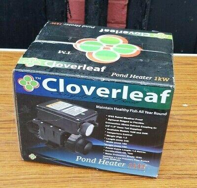 Cloverleaf Pond Heater 1kW Weatherproof Temperature Control Healthy Fish