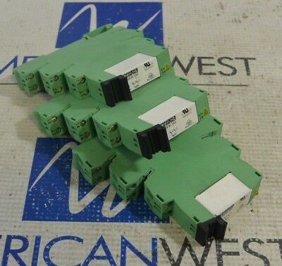 NO.2961105 Power Relay 6A 24VDC 5 Pins w//PLC-BSC-24DC//21 Relay Socket x 1 set